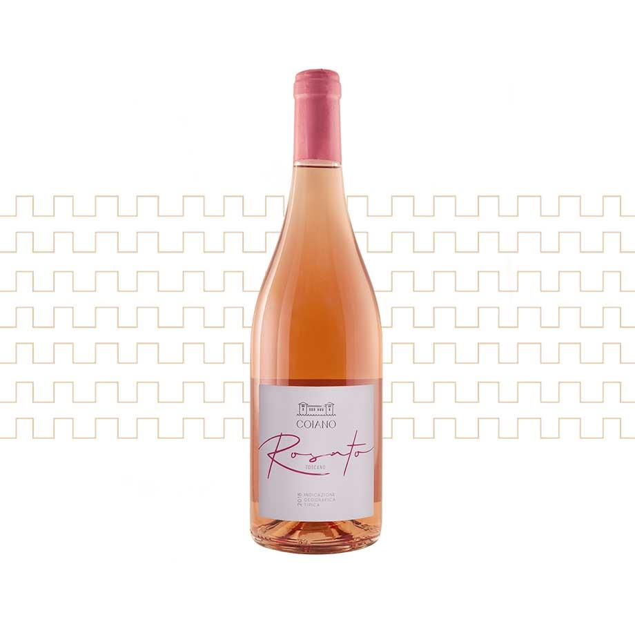 vino rosato toscano Castello di Coiano