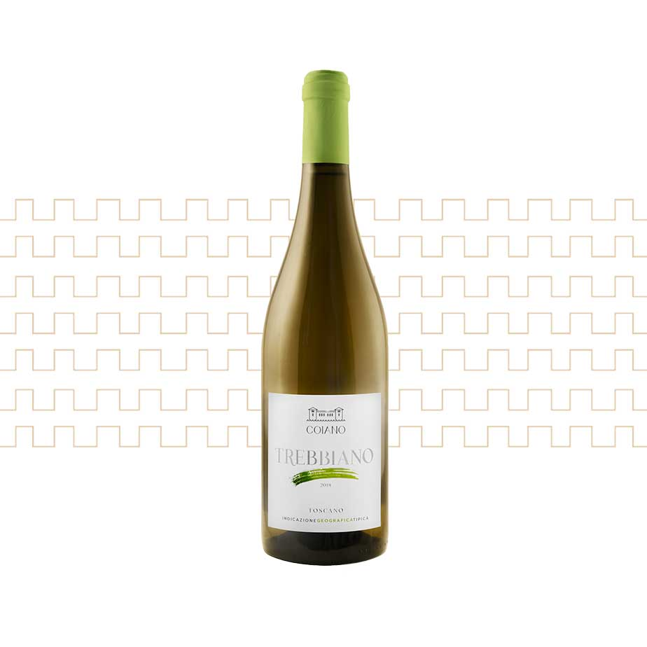 Vino bianco toscano Trebbiano