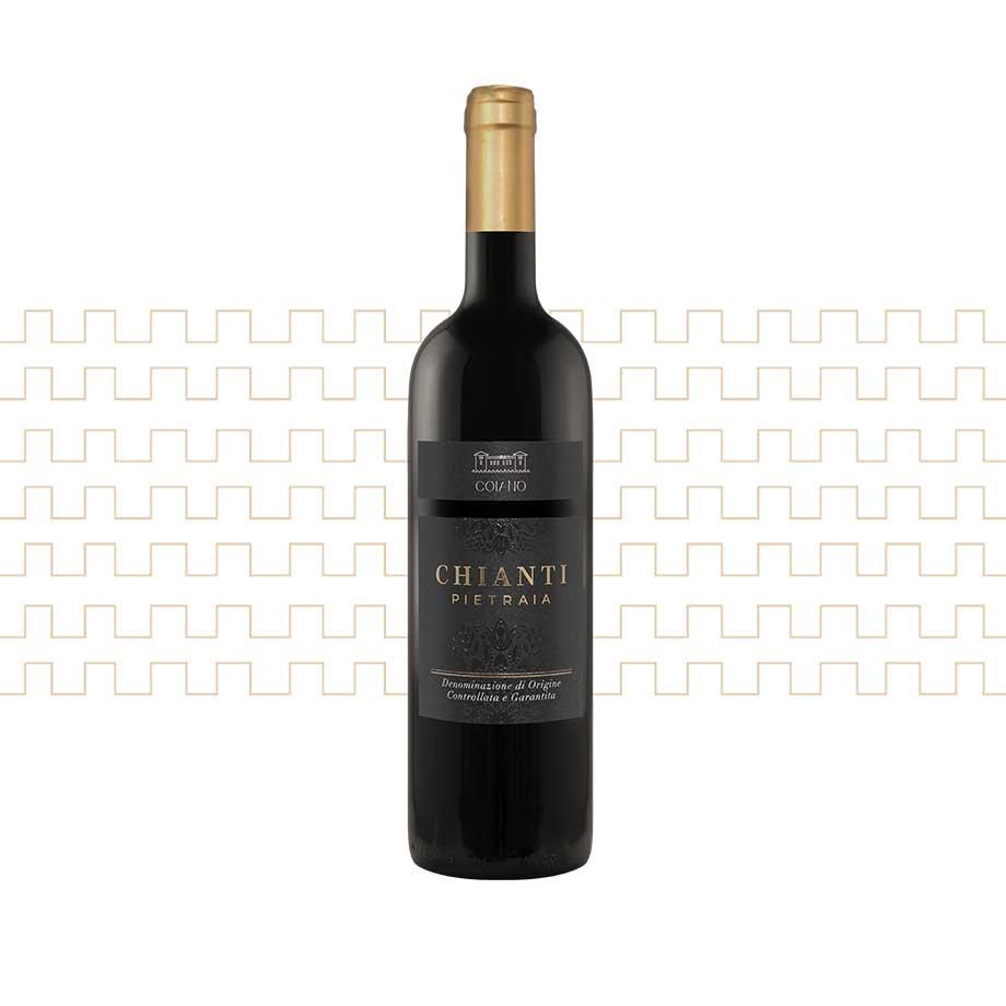 Vino rosso toscano Chianti Pietraia
