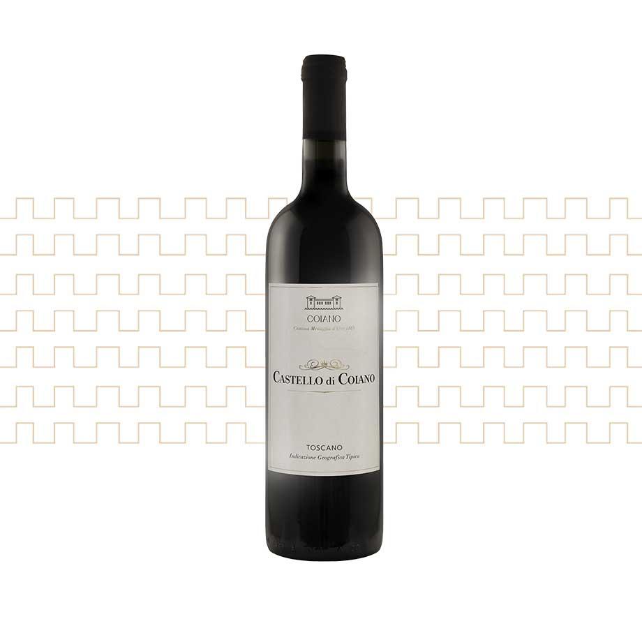 Vino rosso toscano Castello di Coiano